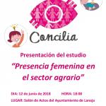 El Proyecto CONCILIA presenta en Lanaja el estudio sobre la presencia de la mujer en el sector agrario