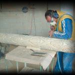 La cantería Olnasa S. L. da un paso hacia la robotización en la talla de la piedra