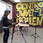 Los jóvenes de Mallén realizan un taller de youtuber