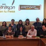 `Pon Aragón en tu mesa´ y Gobierno de Aragón crean un grupo de trabajo