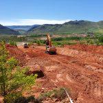 Cuencas Mineras trabaja en el acondicionamiento de un área para la instalación de una nave de reciclaje de plástico