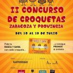 Segunda edición del concurso de croquetas de Zaragoza