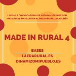 Llega la cuarta convocatoria de Made In Rural