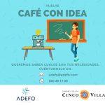 Vuelve `Café con idea´de la mano de ADEFO Cinco Villas