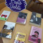 Puntos violetas en las bibliotecas del Somontano