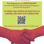 Adecobel, Pueblos Vivos y La Era Rural en la feria Expotalent21