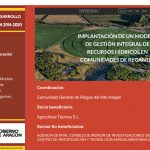 Conectar datos para ganar eficiencia en la Comunidad de Riegos del Alto Aragón