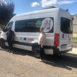 Ceder Monegros subvenciona un vehículo  para Alzheimer Huesca